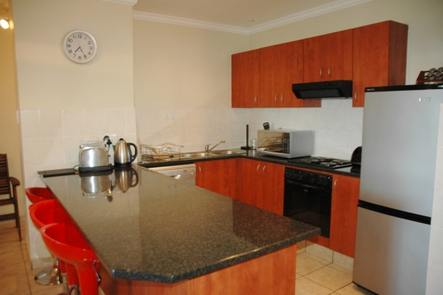 Kuta Beach Unit A Kitchen